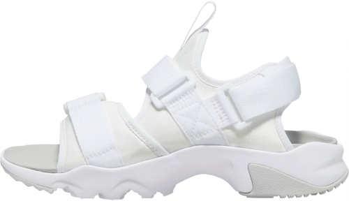 Biele letne turisticke sandále Nike