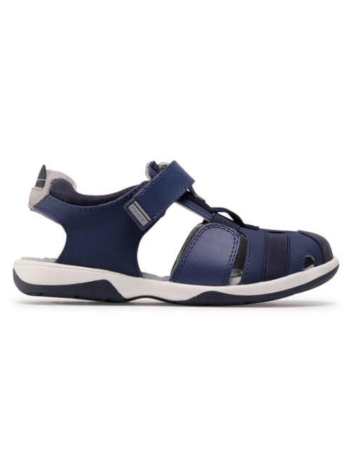 Chlapčenské sandále v tmavo modrom prevedení