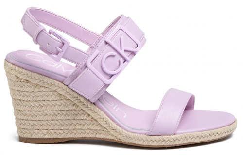 Dámske otvorené sandále CK v krásne letné farbe