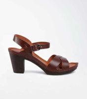 Dámske remienkové sandále na širšom podpätku