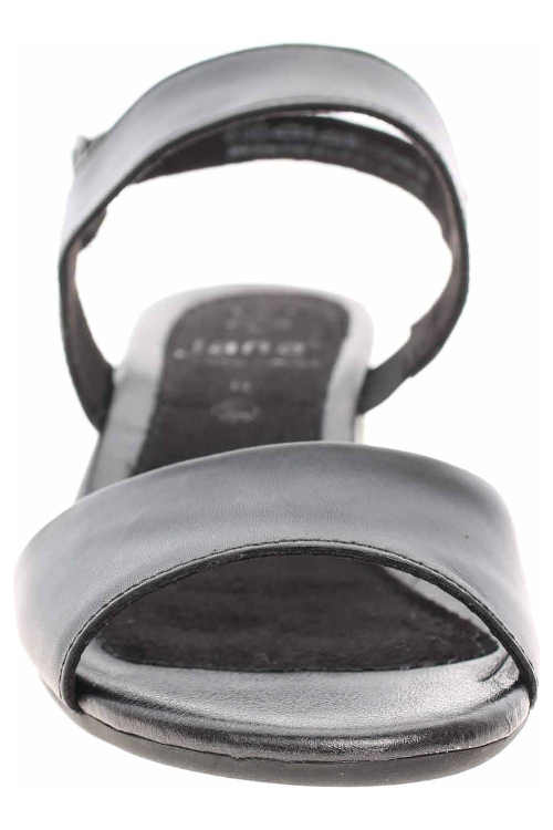 Elegantné dámske čierne sandále