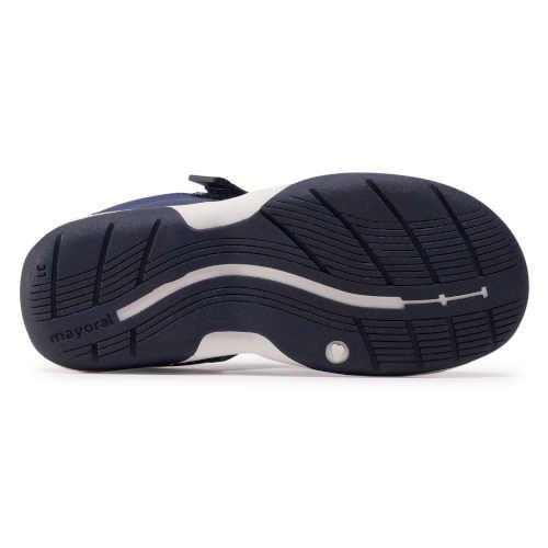 Kvalitné chlapčenské modré sandále