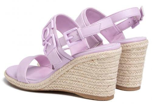 Letné dámske sandále espadrilky Calvin Klein