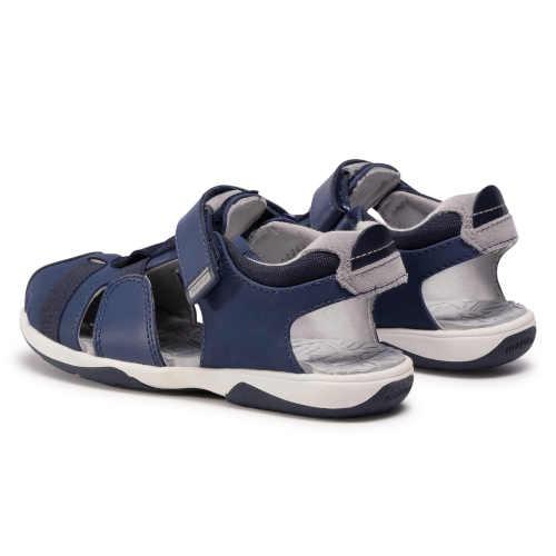 Modré chlapčenské letné sandále
