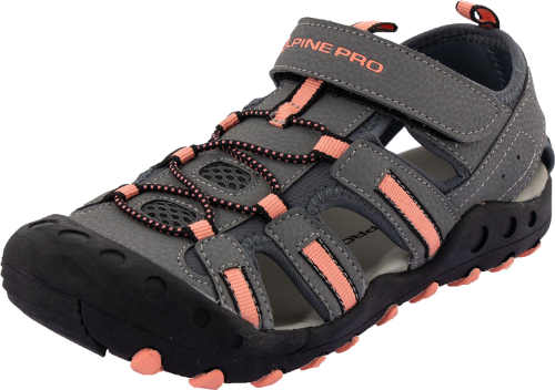 Športové letné detské šedej sandále Alpine Pro Olivie