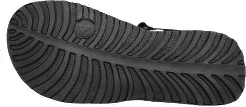 Čierne štýlové športové sandály