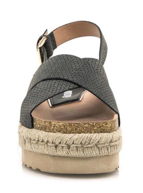 Dámske letné sandále na vysokej platforme