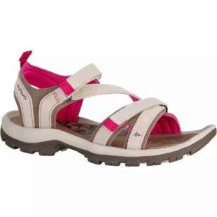 Dámske turistické páskové sandále