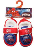 Detské hrejivé papuče Spiderman