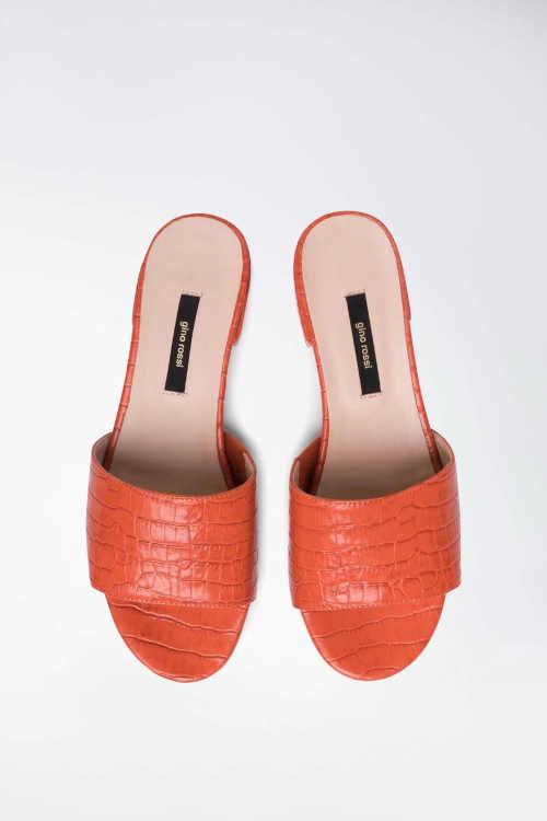 Papuče na nízkom podpätku