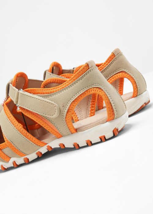 Dámske komfortné remienkové sandále