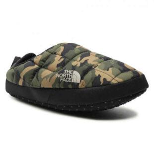Dámske papuče v modernom army štýle