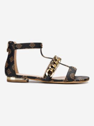 Módne dámske sandále v modernom vzore