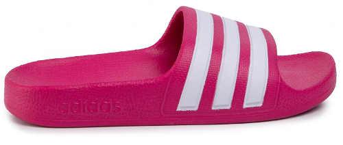 Ružové letné nazúvaky Adidas pre dcéru