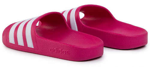 Ružové plážové detské topánky Adidas