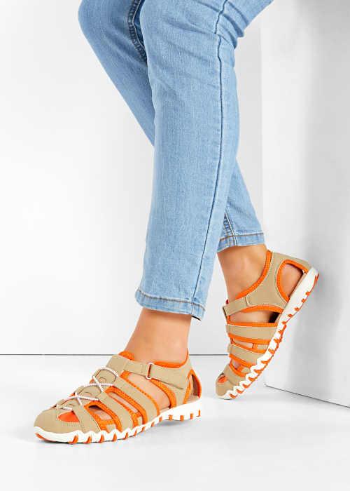 Štýlové letné remienkové sandále