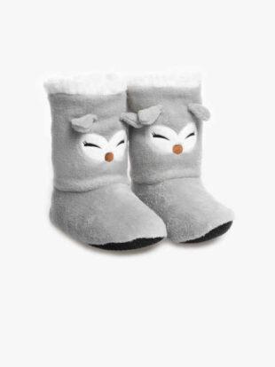 Dámske zábavné teplé papuče