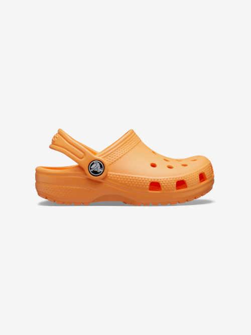 Detské letné topánky crocs orange