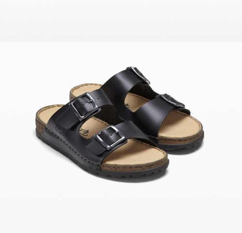Čierne kvalitné papuče