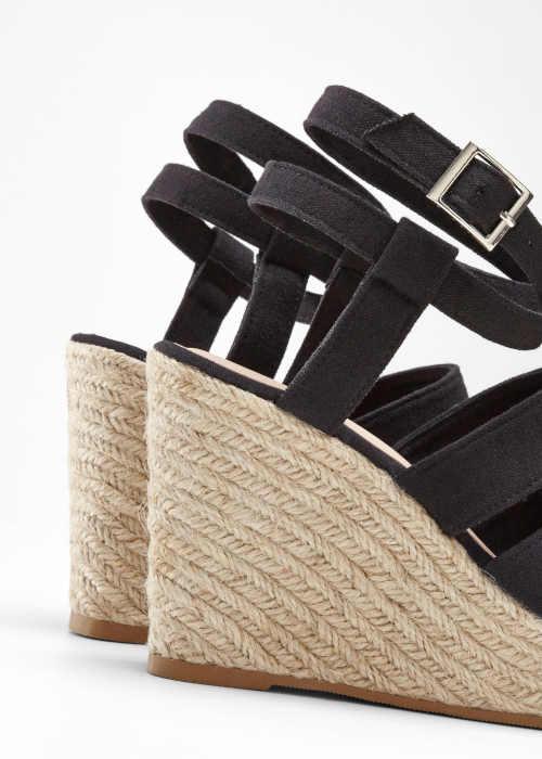Dámske letné sandále na klinoch
