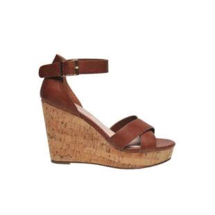 Dámske sandále s vysokým klinom