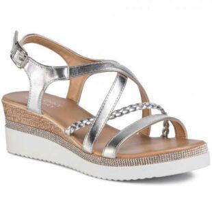Elegantné remienkové sandále na klinoch