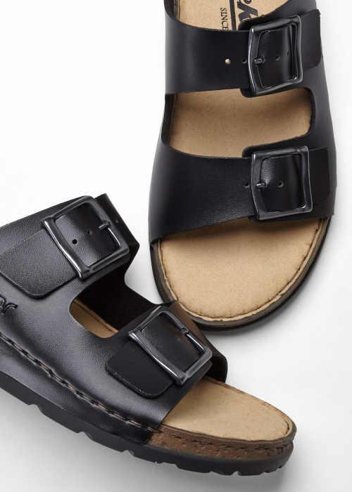 Kvalitné moderné papuče Rieker