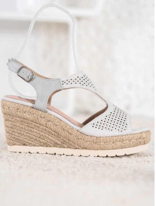 Letné dámske sandále na klinoch