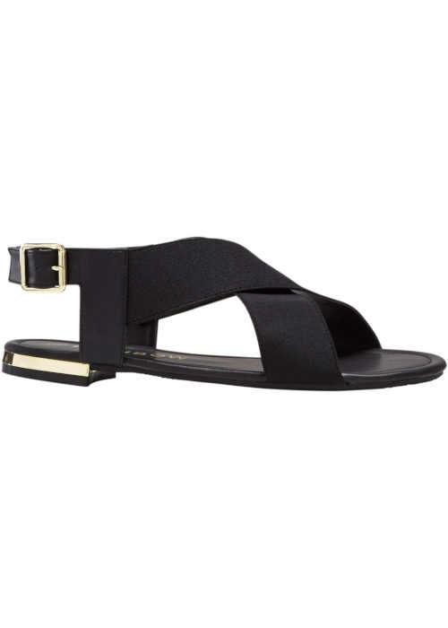 Moderné dámske letné sandále s elastickými paskami