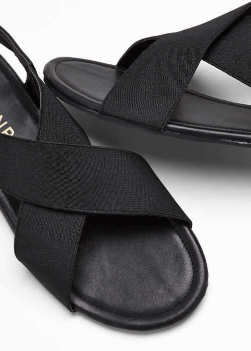 Moderné dámske sandále s remienkami