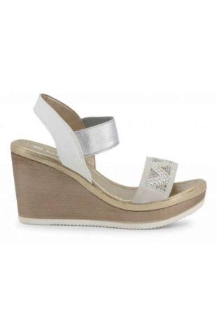 Módne dámske sandále s remienkami na klinoch